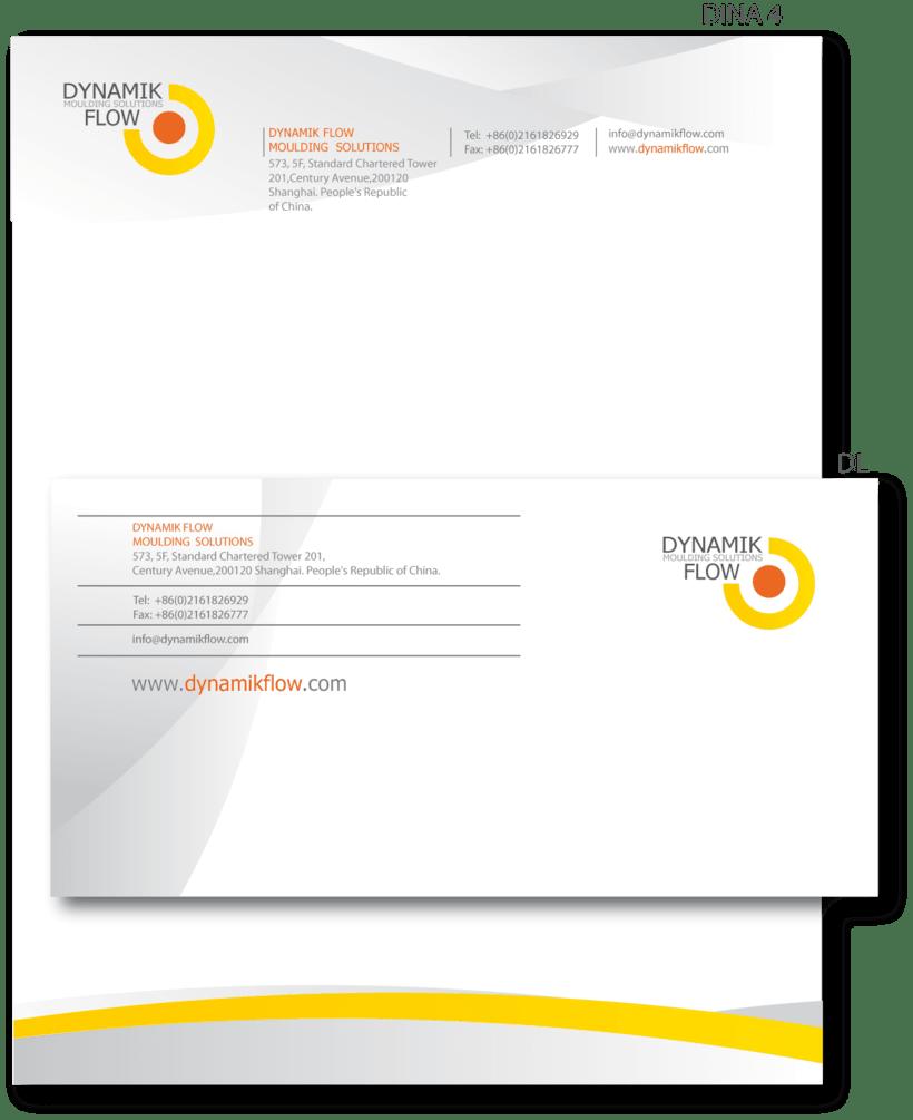 """Proyecto desarrollo de la MARCA:  """" DYNAMIK FLOW moulding solutions"""" 2"""