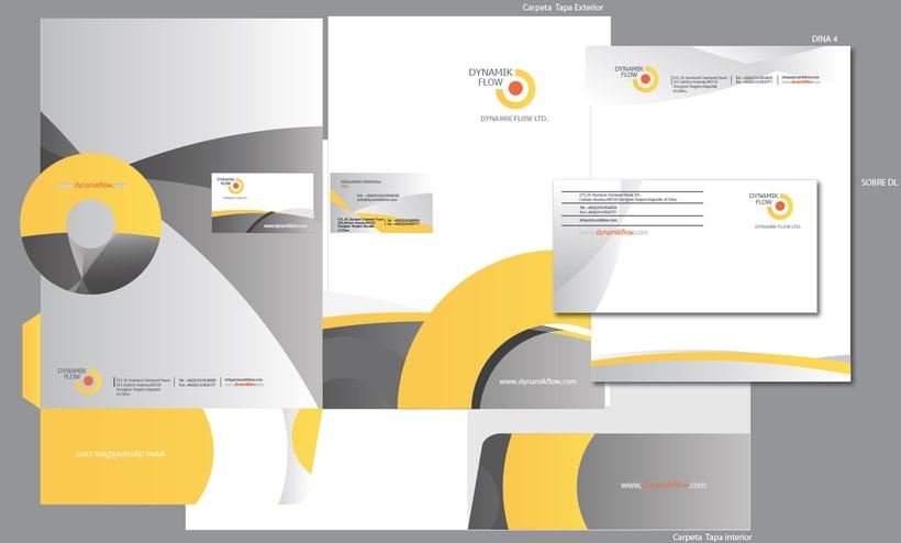 """Proyecto desarrollo de la MARCA:  """" DYNAMIK FLOW moulding solutions"""" 3"""
