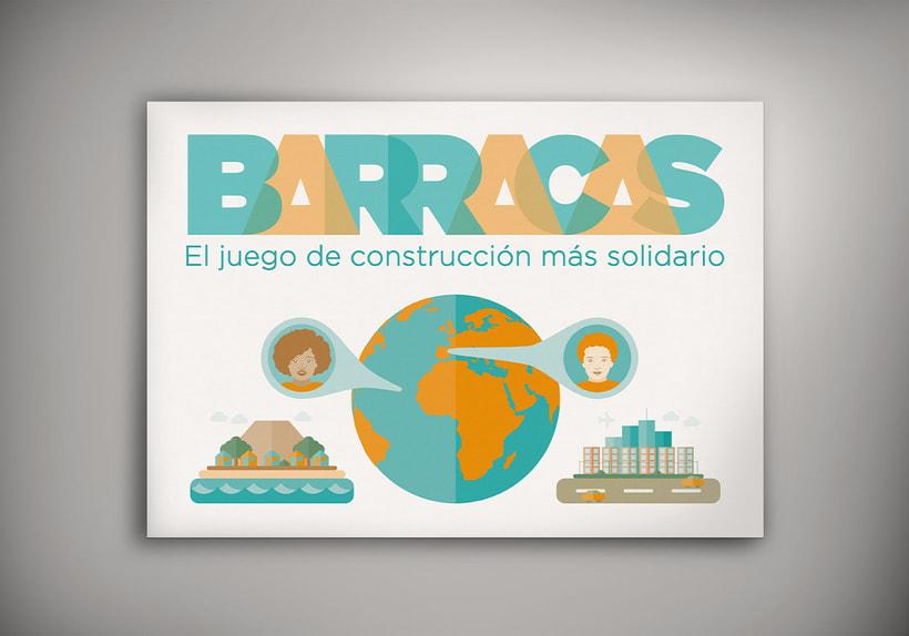 Diseño de la página web y app del juego solidario BARRACAS 1