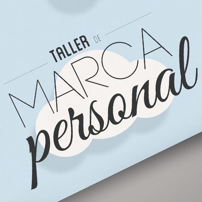 Cartel para Taller de Marca Personal de Nowe Creative 0