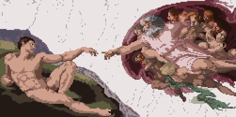 PIXELATED - Ilustraciones 1