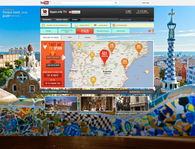Spain me App! - Turespaña 2
