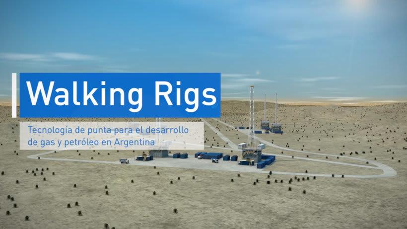 Video sobre sistema Walking Rigs - YPF 0