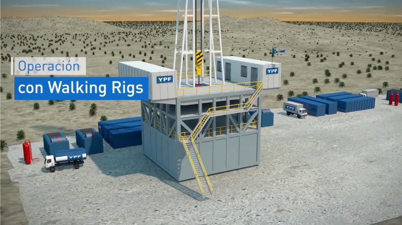 Video sobre sistema Walking Rigs - YPF 2