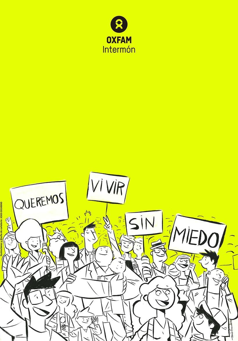 Colaboración para #EticaVSDesigualdad. Campaña de Oxfam Intermón en Sevilla. Se promocionaba un acto de http://poletika.org/es/ 0