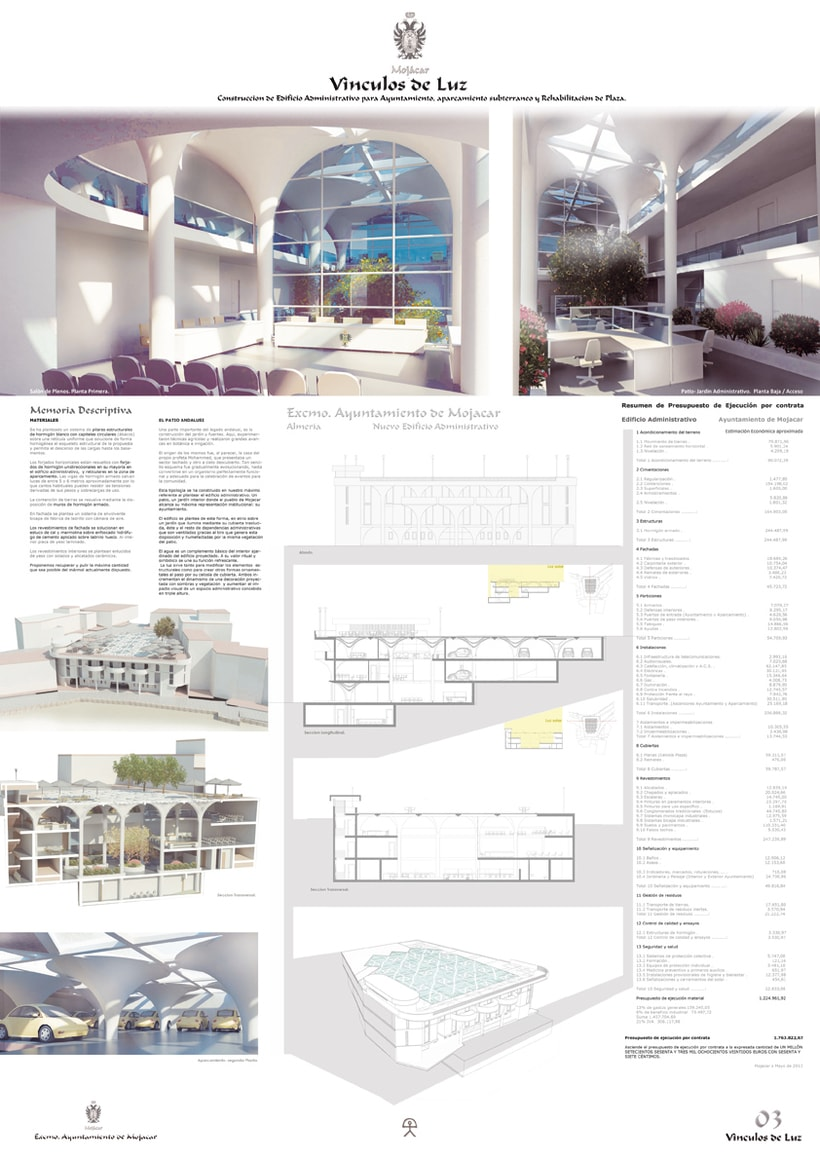 Infografía de Arquitectura de Mojácar. 0