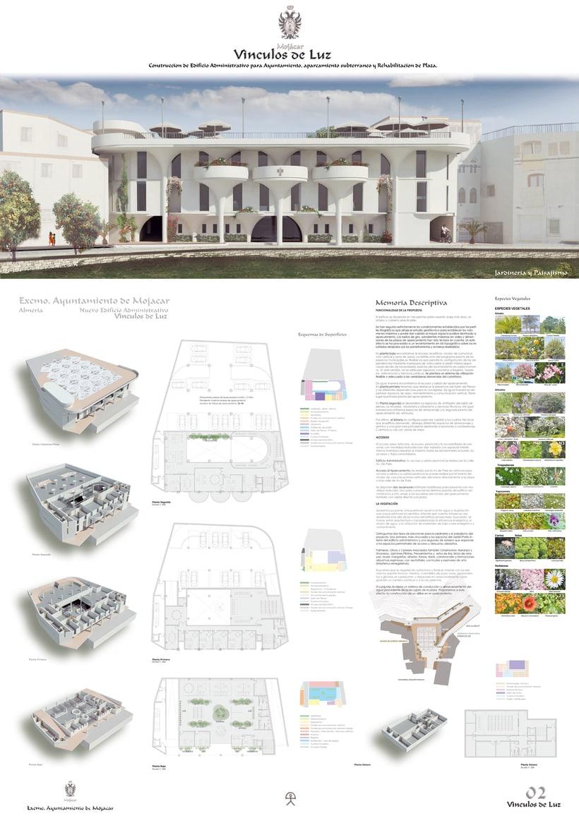 Infografía de Arquitectura de Mojácar. 1