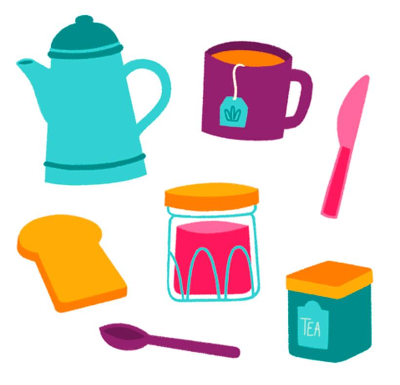 Breakfast Pattern 3