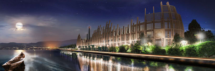 2º Premio en concurso de Arquitectura Ecológica. Ence Pontevedra. 3