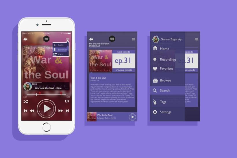 Hone - App UI 2