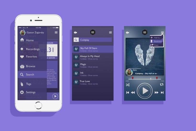 Hone - App UI 3