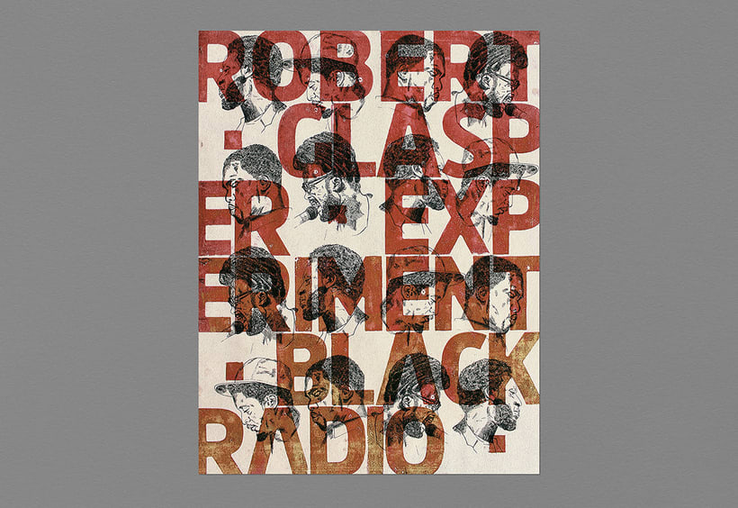 Robert Glasper  Poster - Letterpress 0