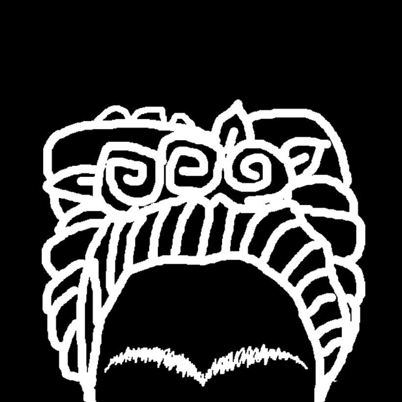 La ceja de Frida 0