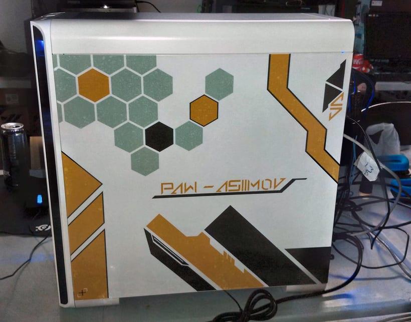 Asiimov's PC personalisation 12