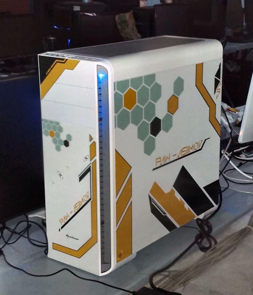 Asiimov's PC personalisation 10