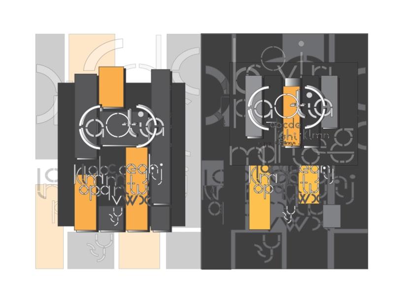 Tipografía modular y aplicaciones 0