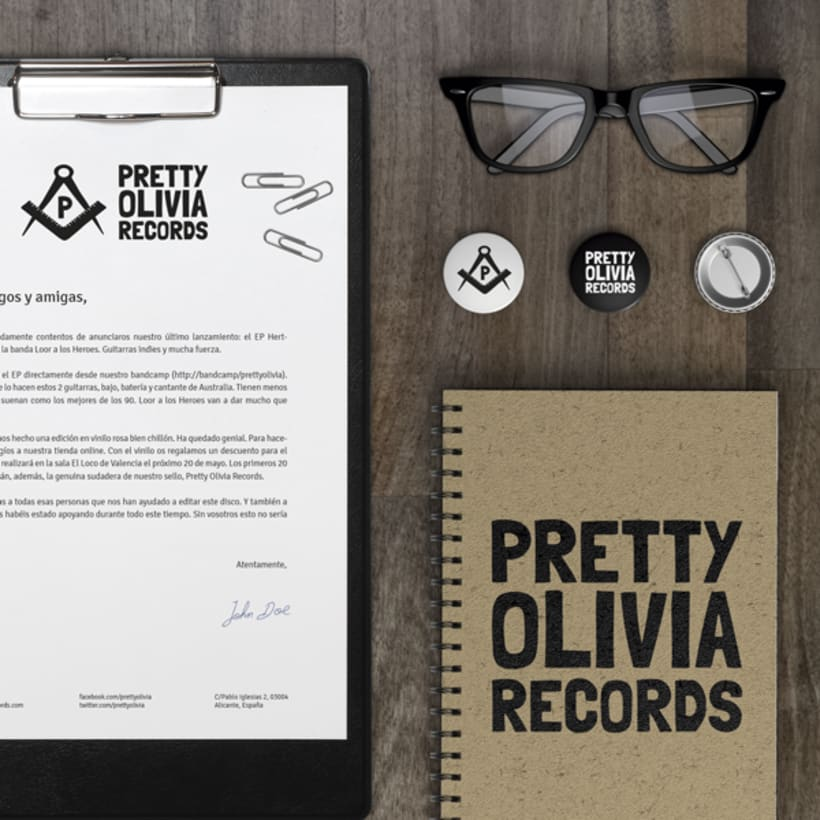 Pretty Olivia Records -1