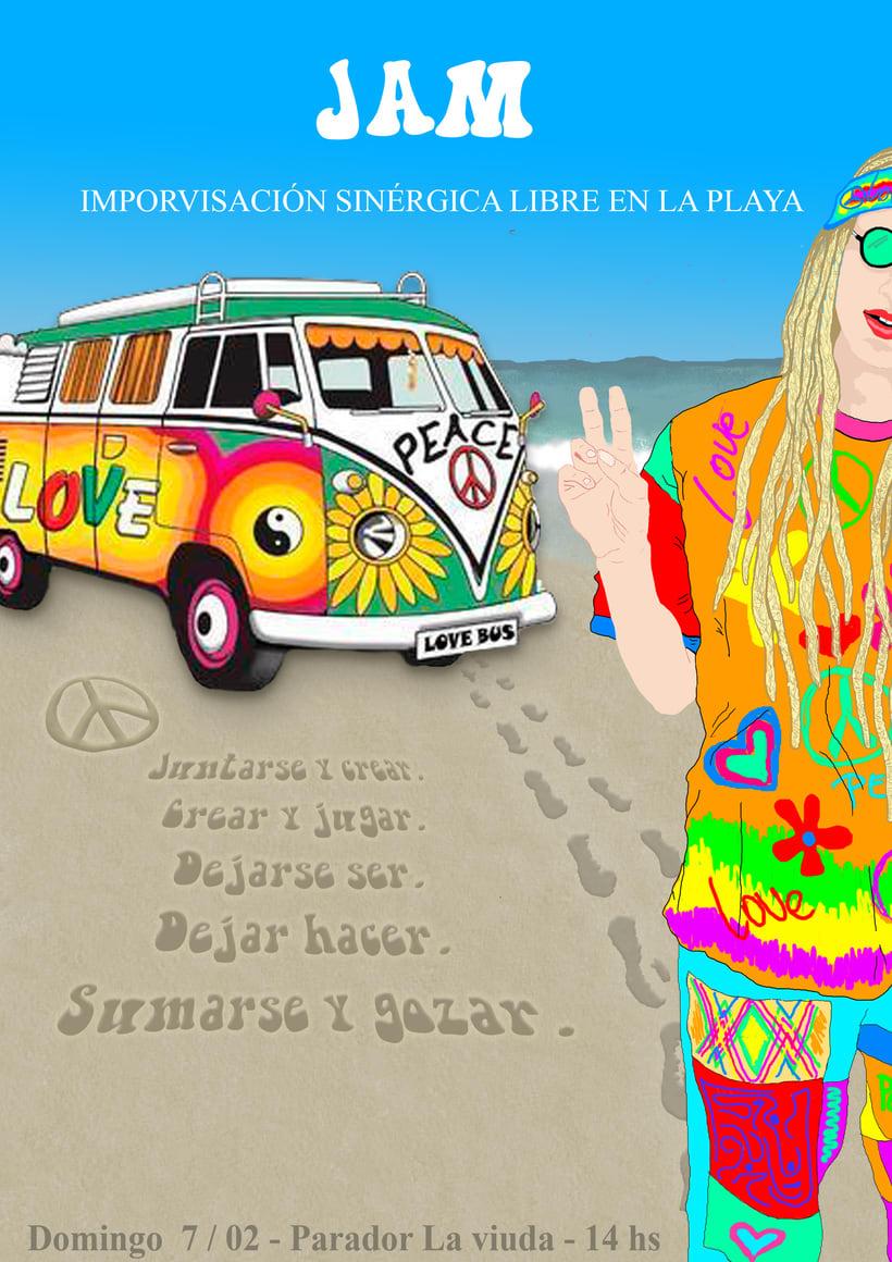 Tribu urbana escogida : Hippie 1