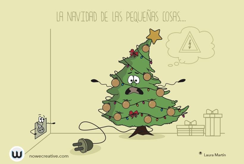 coleccin de originales postales de navidad nowe