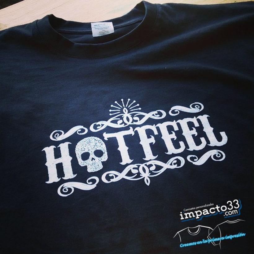 Camisetas personalizadas  estampación serigrafía 0