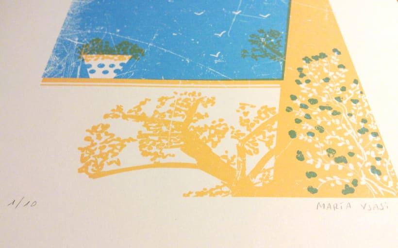 Mi Proyecto del curso Ilustración original de tu puño y tableta 3