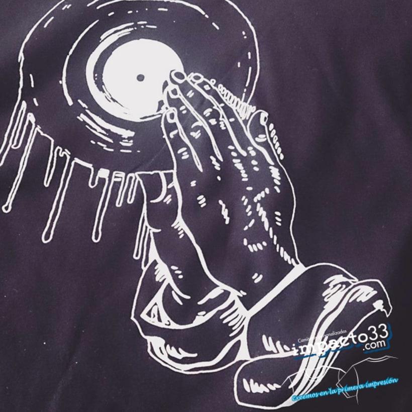 Camisetas personalizadas  estampación serigrafía 5