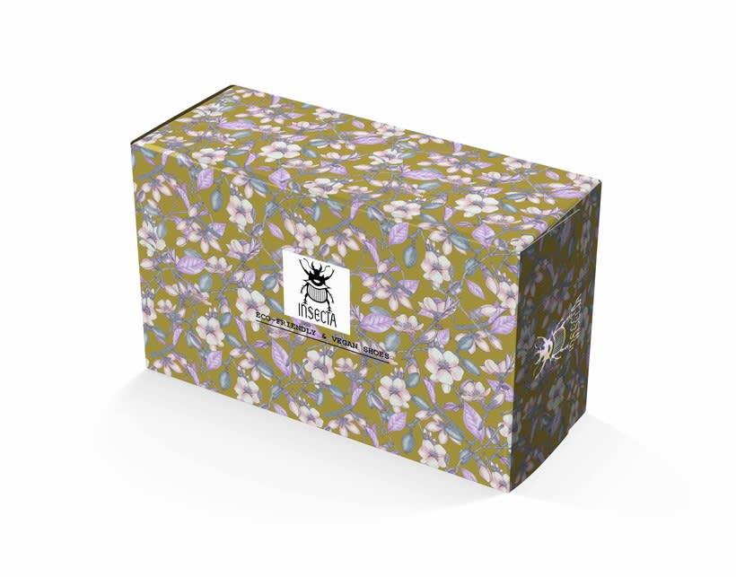 Flor de almendra para Insecta Shoes. 3