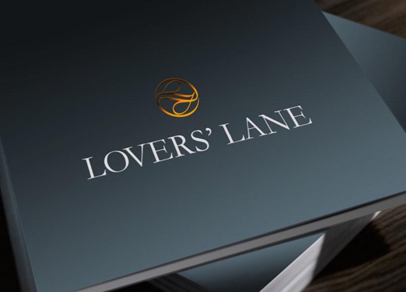 Diseño de logotipo para Lover´s Lane, una firma mexicana de calzado y accesorios de piel para dama y caballero. -1