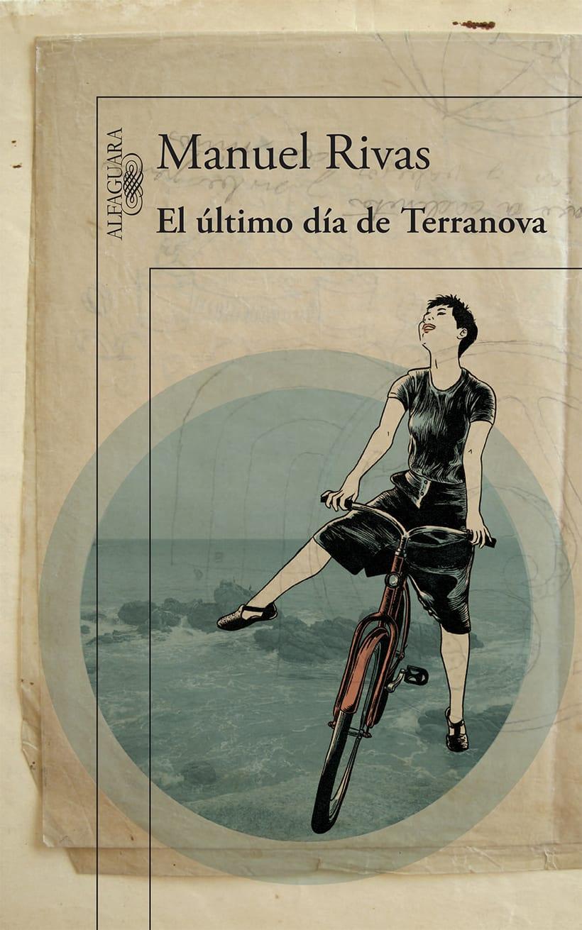 Portada para El último día de Terranova, de Manuel Rivas 1