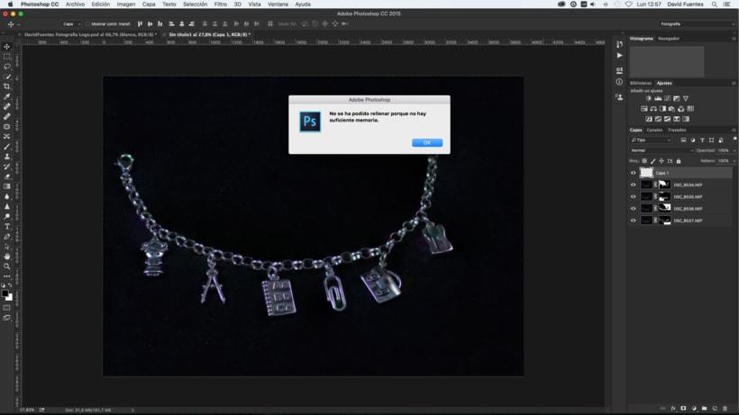 Problema Memoria Photoshop 1