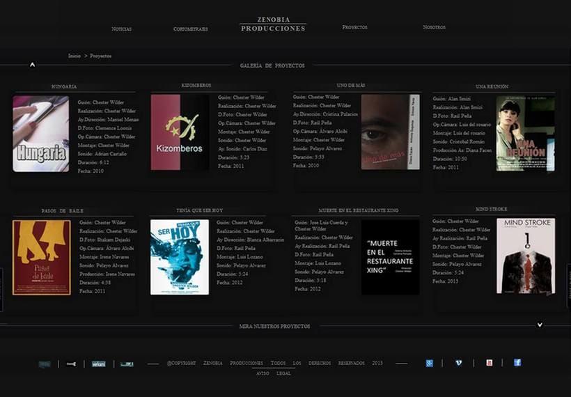 Proyecto Producciones Zenobia 1