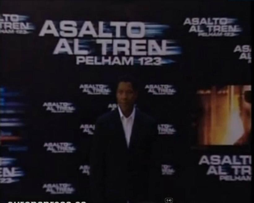 "Grabacion Premiere ""Asalto al tren Pelham 123"" -1"