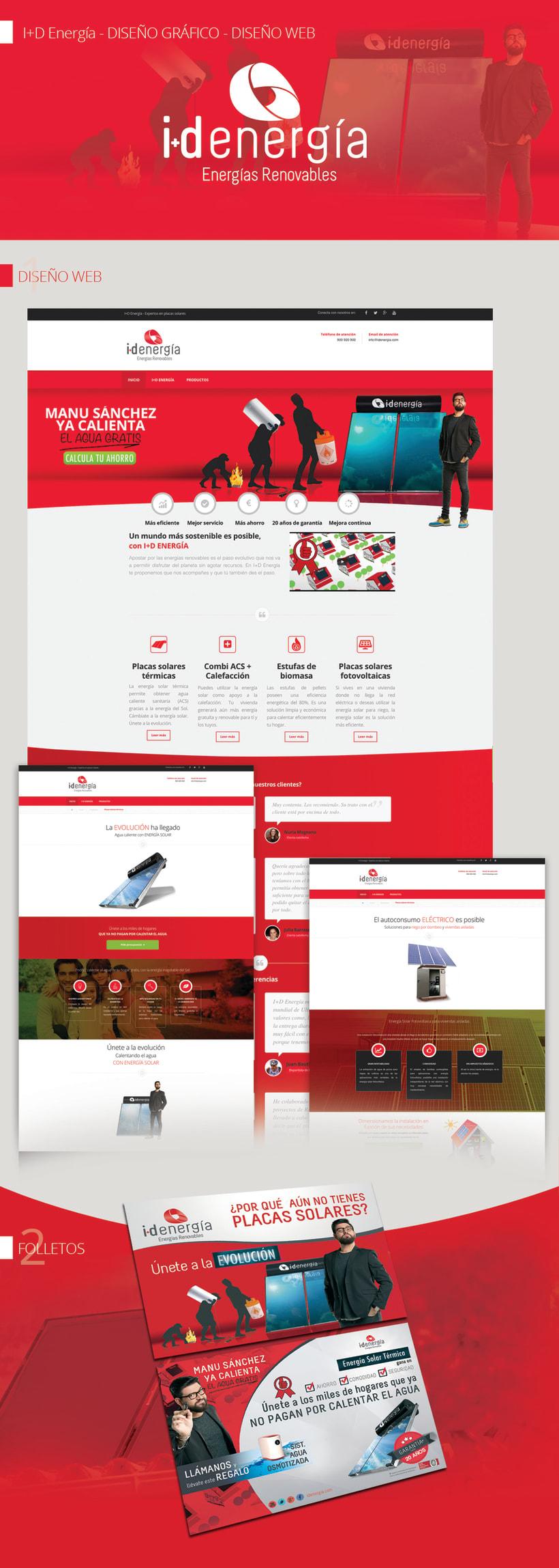 I+D Energía - Diseño para medios publicitarios y corporativos 0