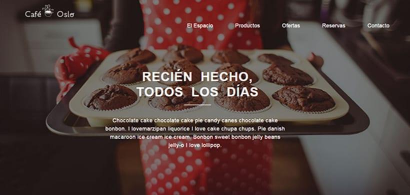 Café Oslo. Mi proyecto al curso Introducción al desarrollo Web responsive con HTML y CSS 0