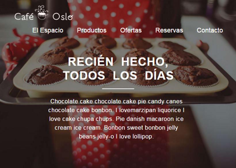 Café Oslo. Mi proyecto al curso Introducción al desarrollo Web responsive con HTML y CSS 2