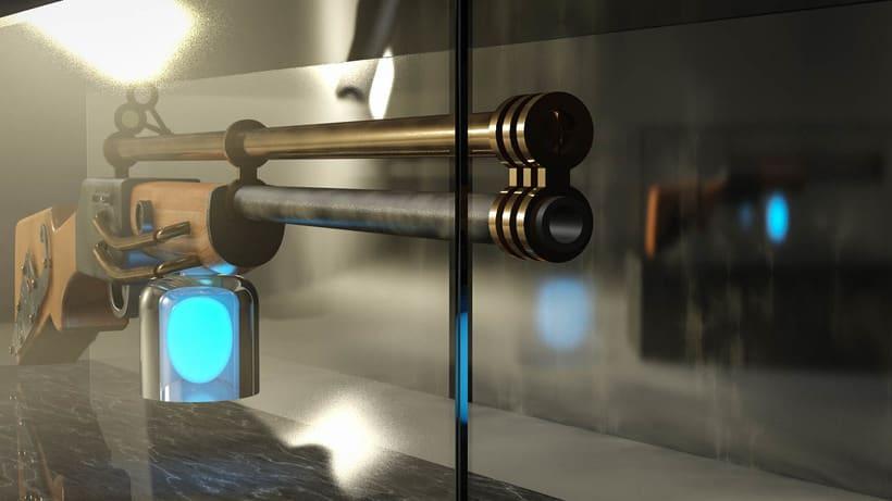 Steampunk Gun 0
