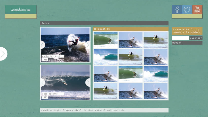 Surfer Web- SouthWaves 3