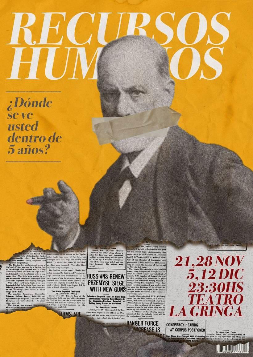 Afiche Teatro- Recursos Humanos -1