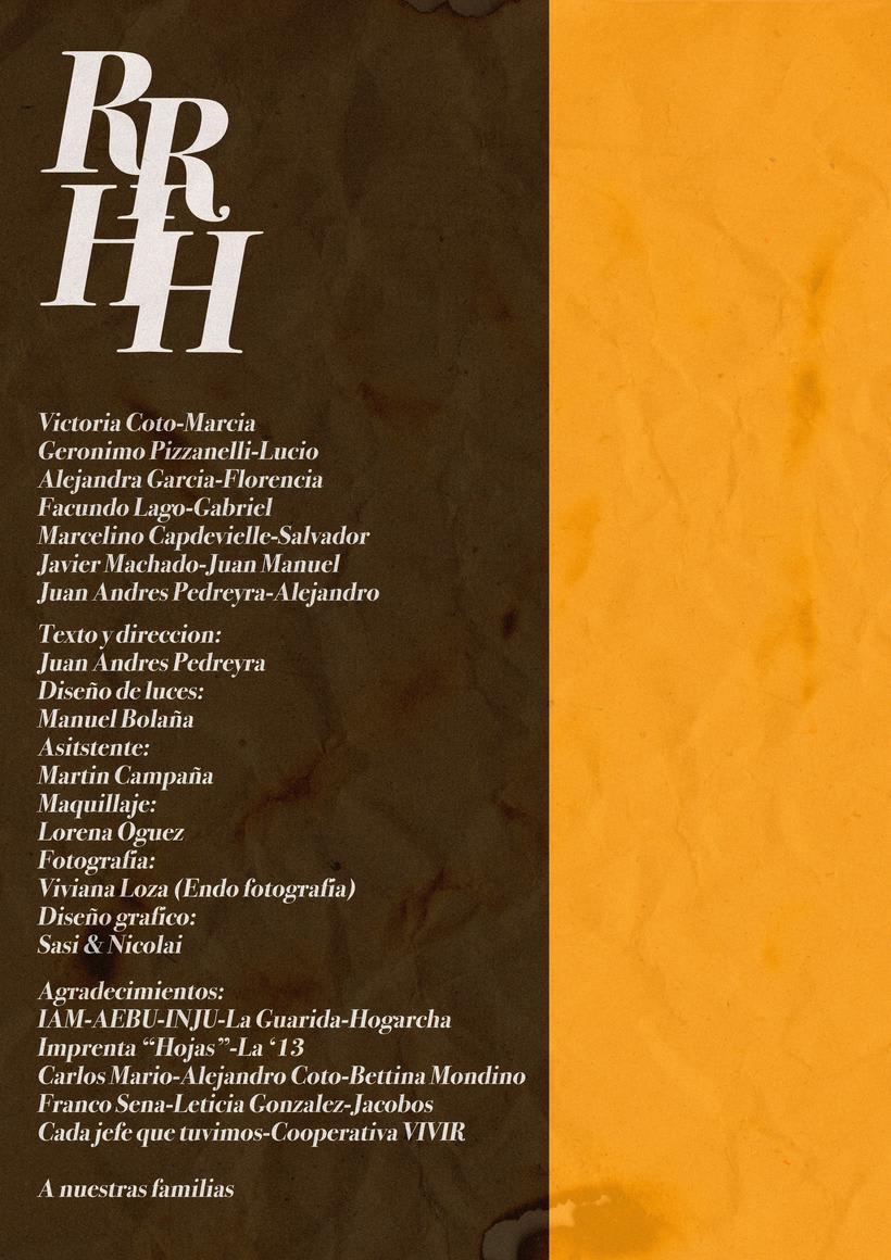 Afiche Teatro- Recursos Humanos 0