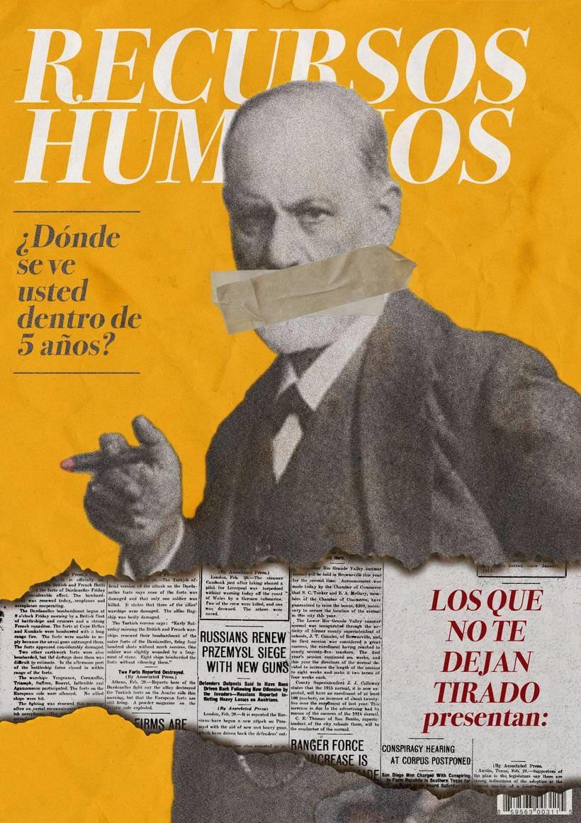 Afiche Teatro- Recursos Humanos 1