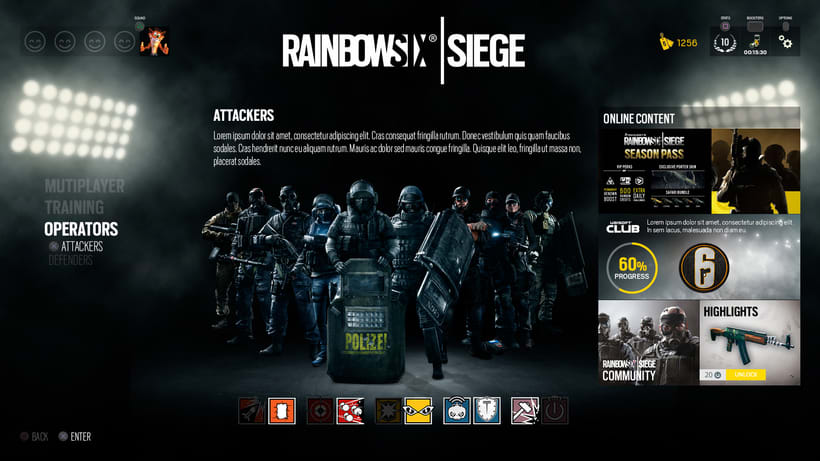 Tom Clancy's Rainbow Six® Siege 1