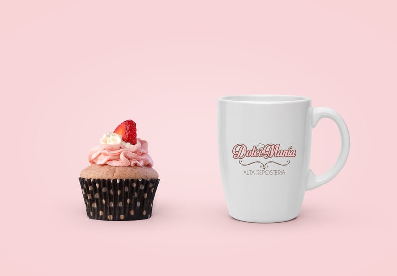 Dolce Manía Cupcakes Branding -1