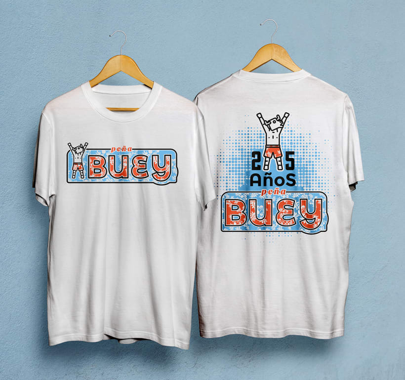 Camiseta peña Buey 3