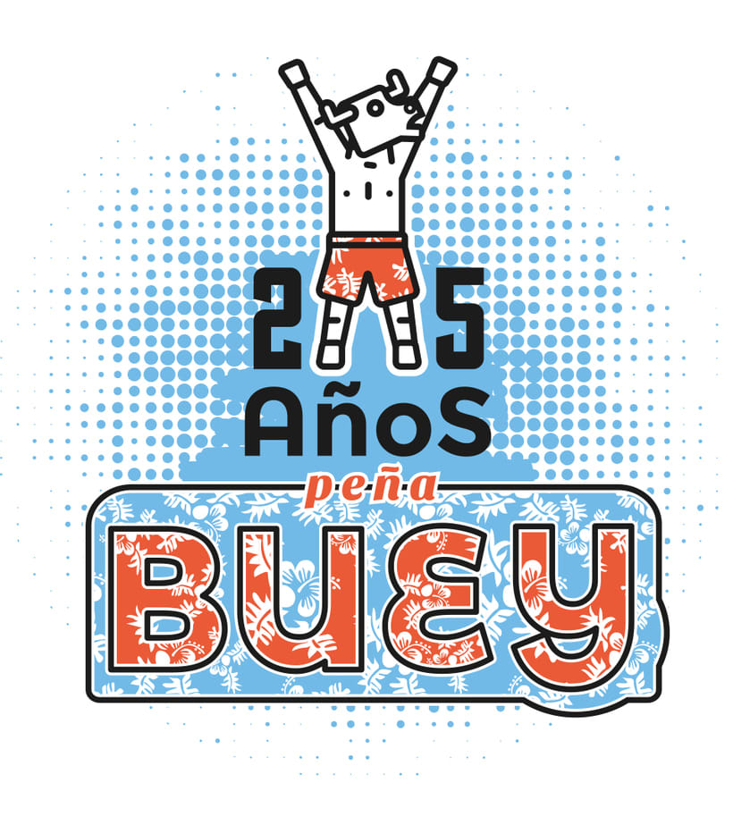 Camiseta peña Buey 2