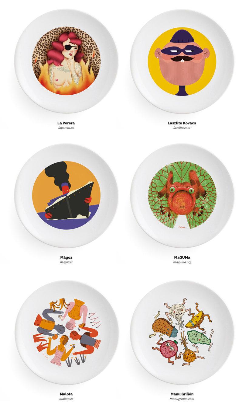 Ilustradores, ¡a la mesa! 8