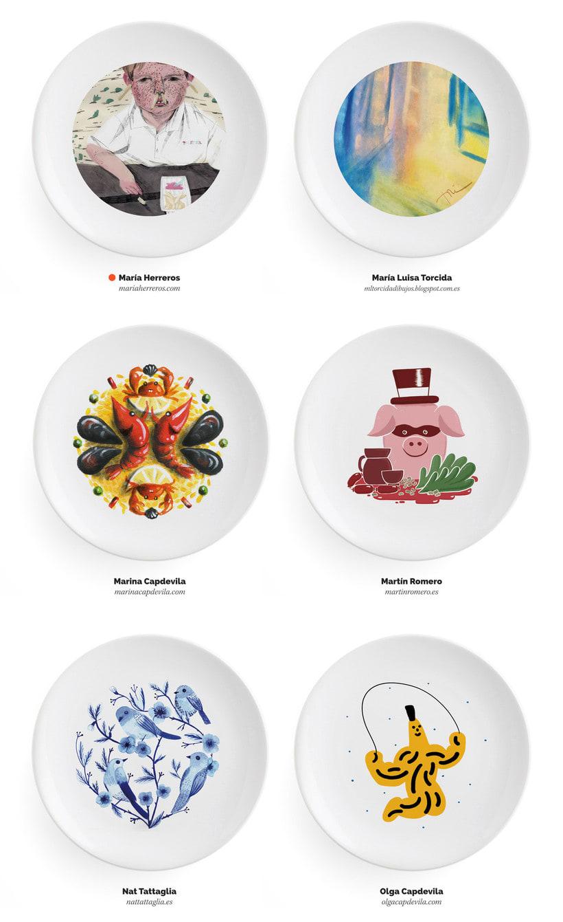 Ilustradores, ¡a la mesa! 9