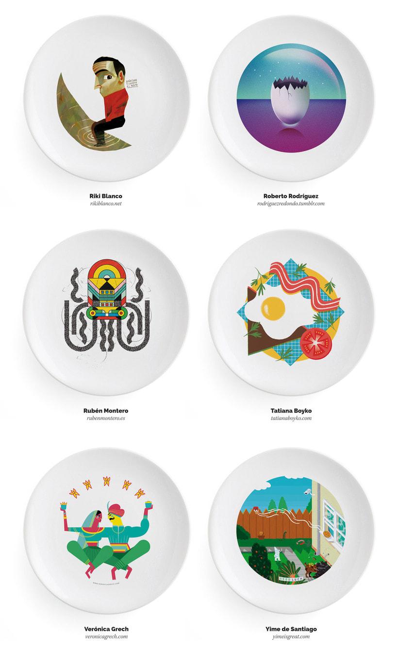 Ilustradores, ¡a la mesa! 11