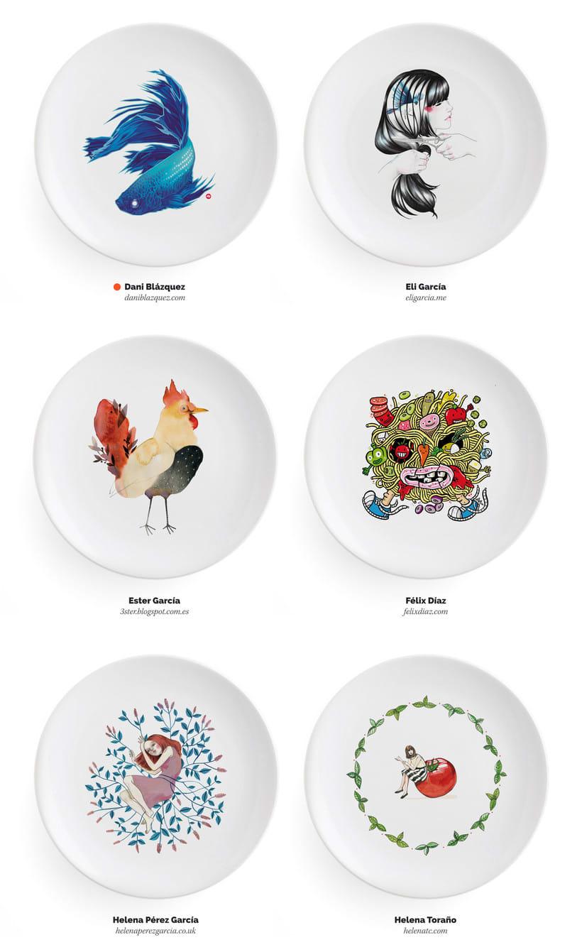 Ilustradores, ¡a la mesa! 6