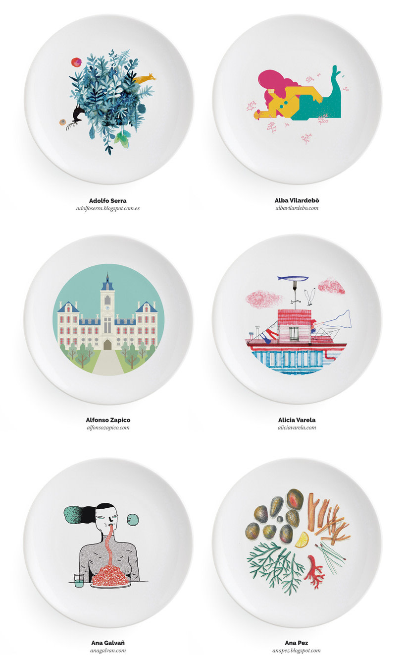Ilustradores, ¡a la mesa! 4