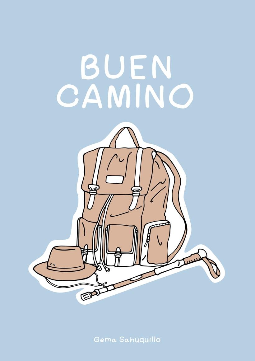 Buen Camino por Gema Sahuquillo.  0